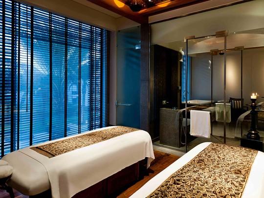 Autre vue du spa de l'hôtel The Chedi à Mascate