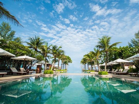 La piscine de l'hôtel Layana Resort and Spa en Thailande