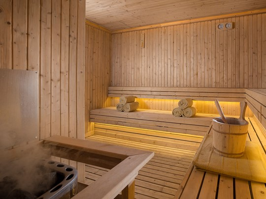 Le sauna de l'hôtel The Legian à Bali