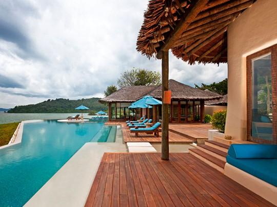 Vue exterieure de la Royal Horizon Pool Villa