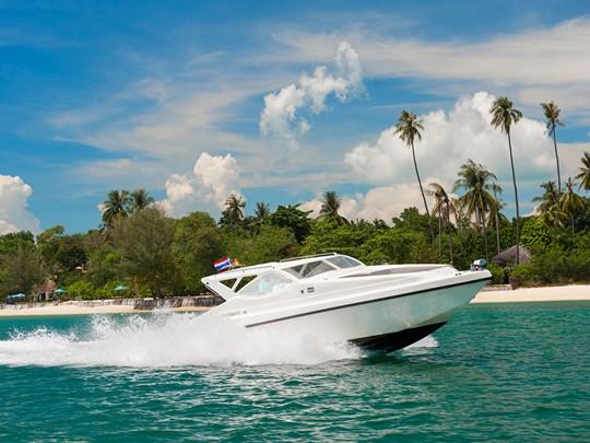 Le Speed Boat de l'hôtel