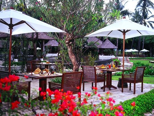 Sunbird Café de l'hôtel The Oberoi à Lombok