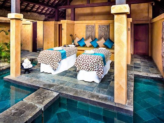 Spa de l'hôtel 5 étoiles Oberoi situé à l'Ile Maurice