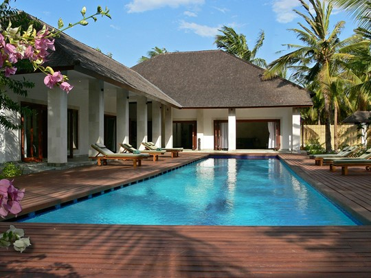 Profitez des sublimes villas de l'hôtel The Purist