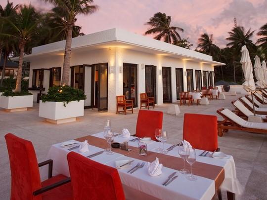Restaurant Fire Grill de l'hôtel The Racha en Thailande