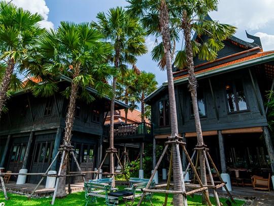 Vue du restaurant Chon Thai de l'hôtel The Siam