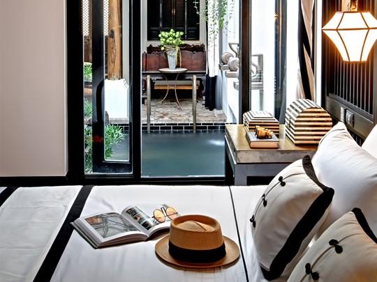 Pool Villa Riverview de l'hôtel The Siam à Bangkok