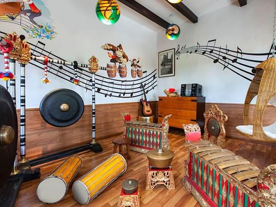 Salle de musique pour les enfants