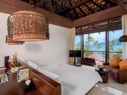 Deluxe Sea View Villa du Vijitt Resort à Phuket