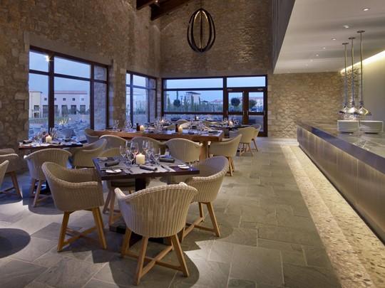 Flame Restaurant du Westin situé en Messénie