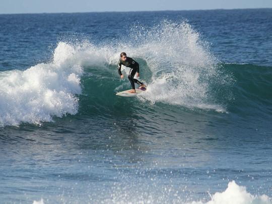 Surf à l'hôtel Westin Costa Navarino en Messénie