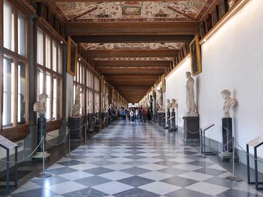 Visite de la Galleria degli Uffizi