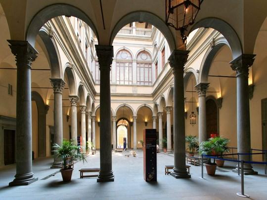 Le palais Strozzi