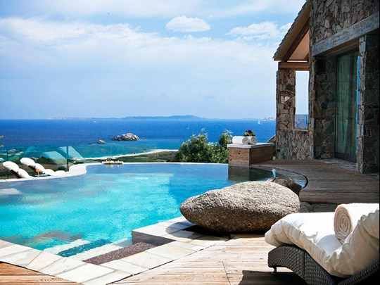 Licciola Sea View Imperial Suite with pool
