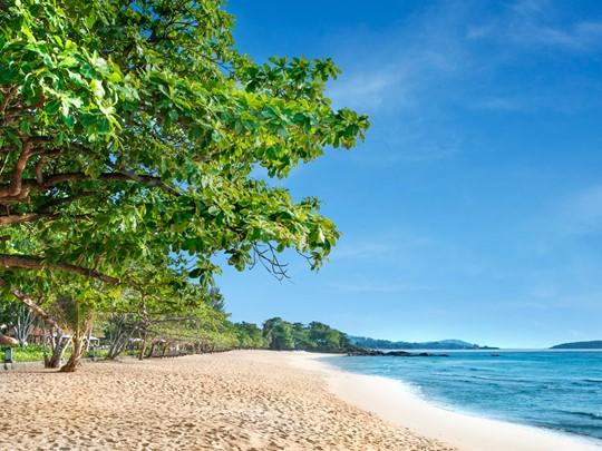 La magnifique plage de Chaweng Noi en Thaïlande