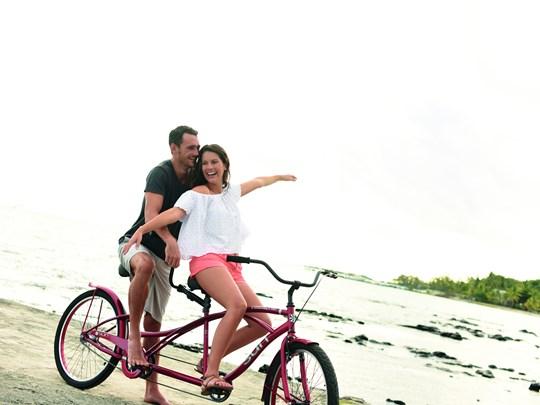 Découvrez l'île à vélo