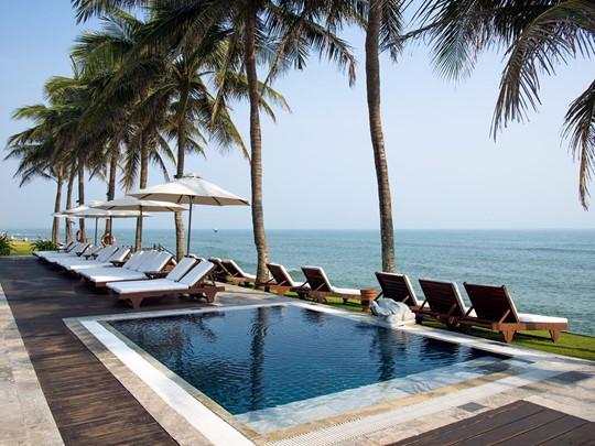 Profitez du bain à remous de l'hôtel Victoria Hoi An
