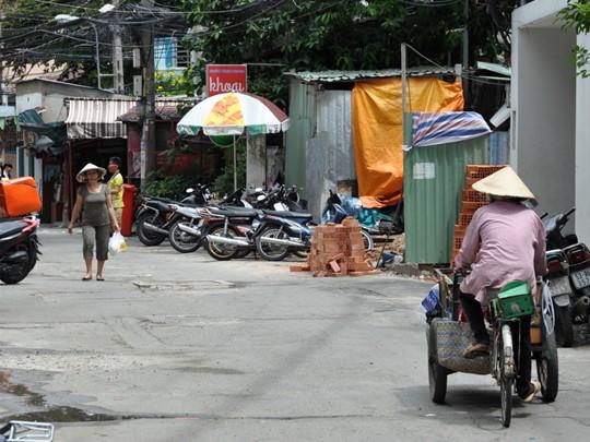 Les rues typiques de Saigon
