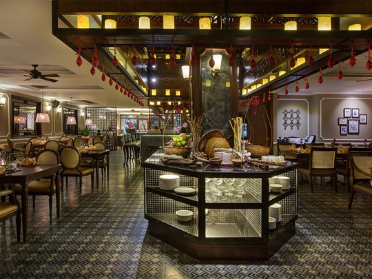Le restaurant de l'hôtel La Siesta à Hanoï