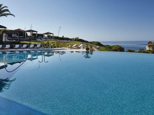 Superbe piscine à débordement