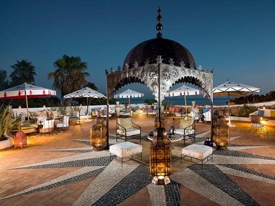 La terrasse panoramique du bar Manzar