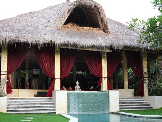 Vue de l'hôtel Villa Mathis