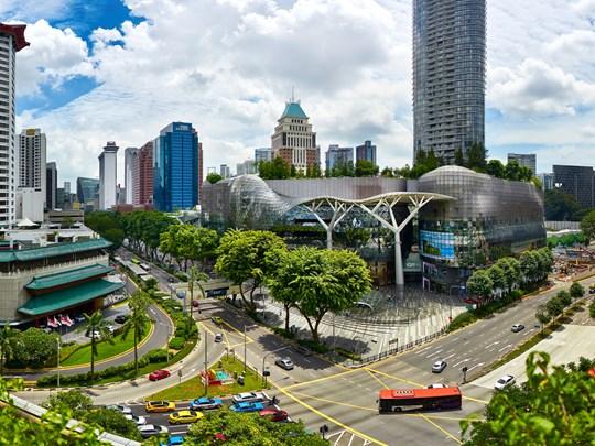 Partez à la découverte du quartier d'Orchard Road