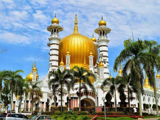 Visite de la grande Mosquée Ubudiah en Malaisie