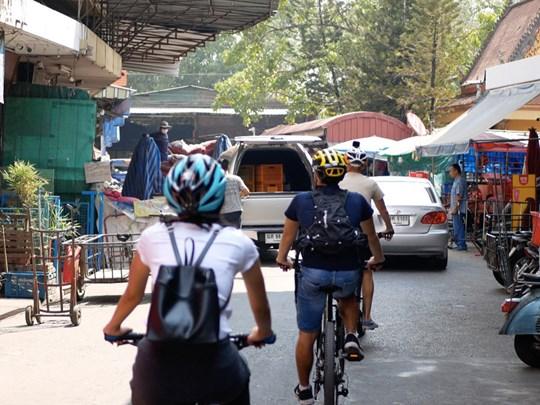Visite de Chiang Mai à vélo