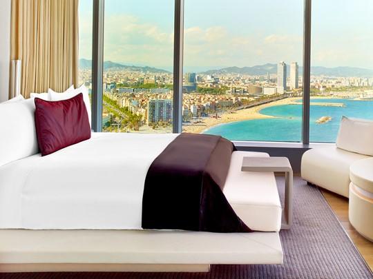 La Suite Wow du W Barcelone Hotel en Espagne