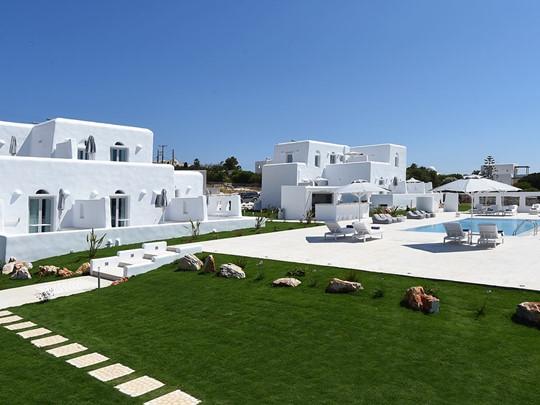 Vue du White Dunes Luxury Suites