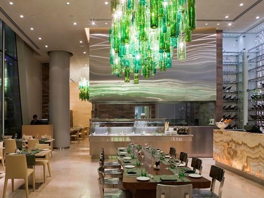 Le restaurant Amici de l'hôtel Yas Viceroy