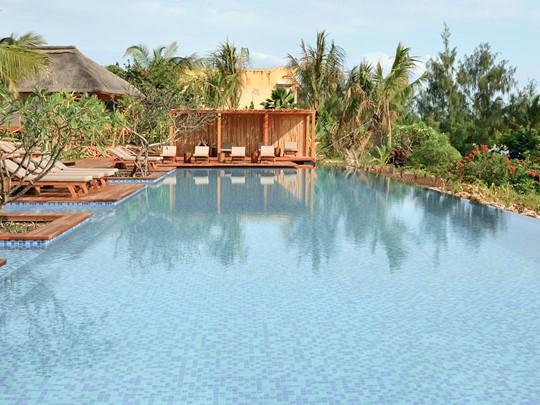 La piscine de l'hôtel Zuri Zanzibar
