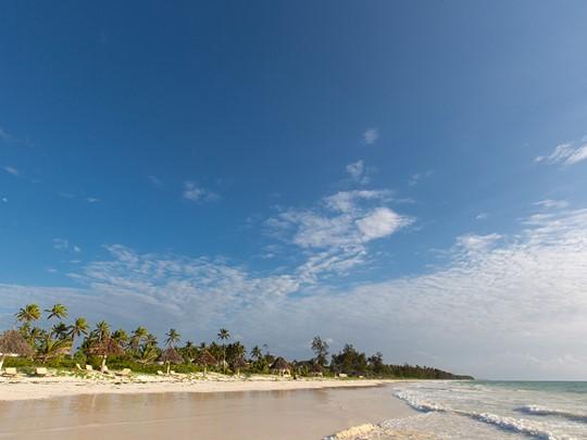 La plage du Zanzibar White Sand, l'une des plus belles plages de l'île