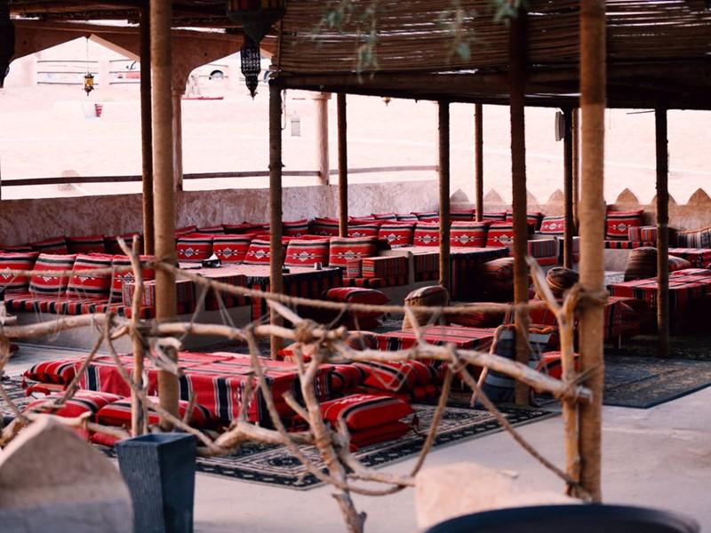 Le restaurant Arabian Nights du 1000 Nights Camp