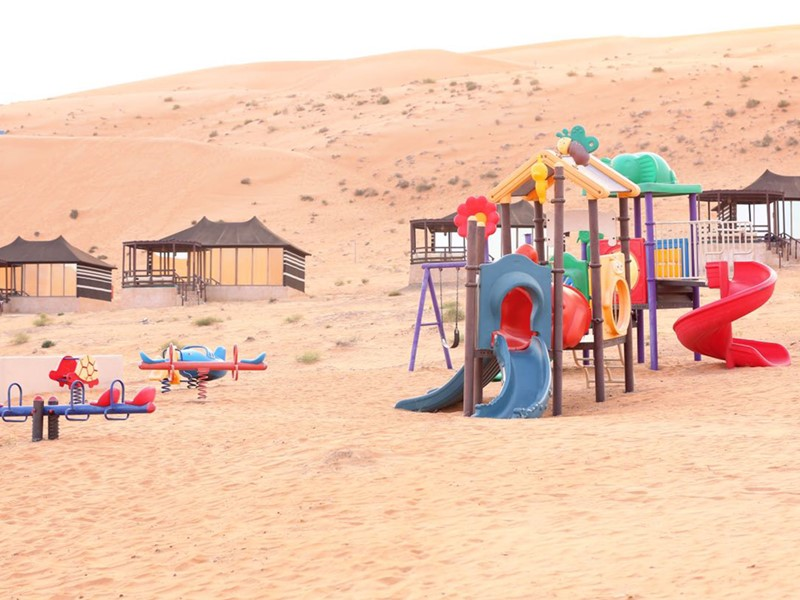 Le coin enfants du 1000 Nights Camp à Oman