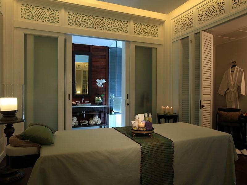 Le spa de l'hôtel 5 étoiles 137 Pillars House en Thailande