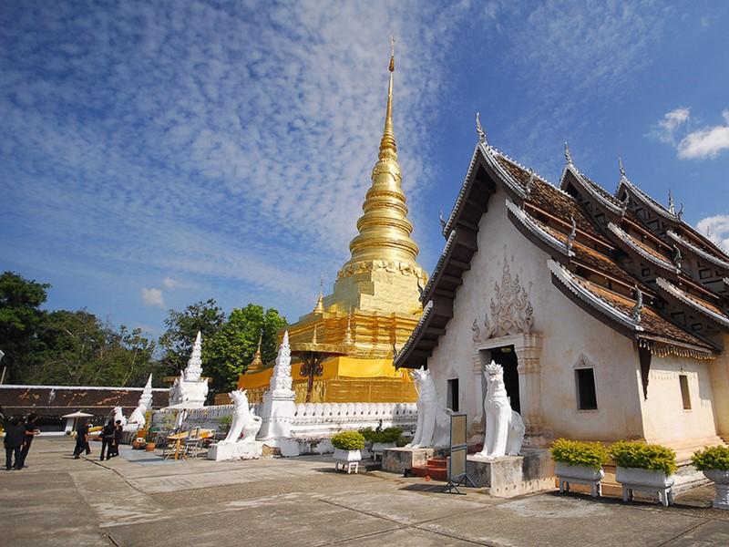 Le Wat Chae Hang, l'un des plus anciens temples bouddhistes le plus vénéré