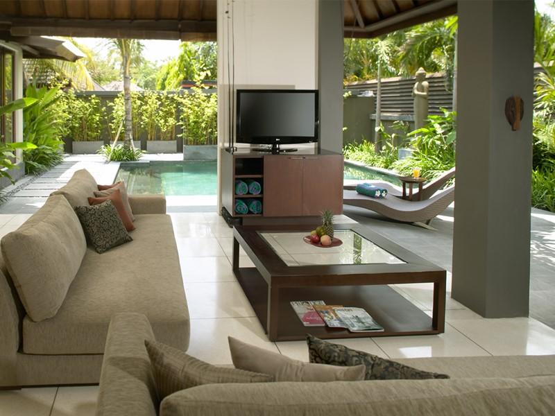 Salon d'une villa