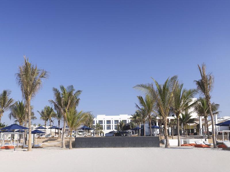 La superbe plage de l'Al Baleed Resort Salalah by Anantara