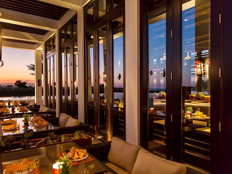 Le restaurant Mekong de l'Al Baleed Resort à Salalah