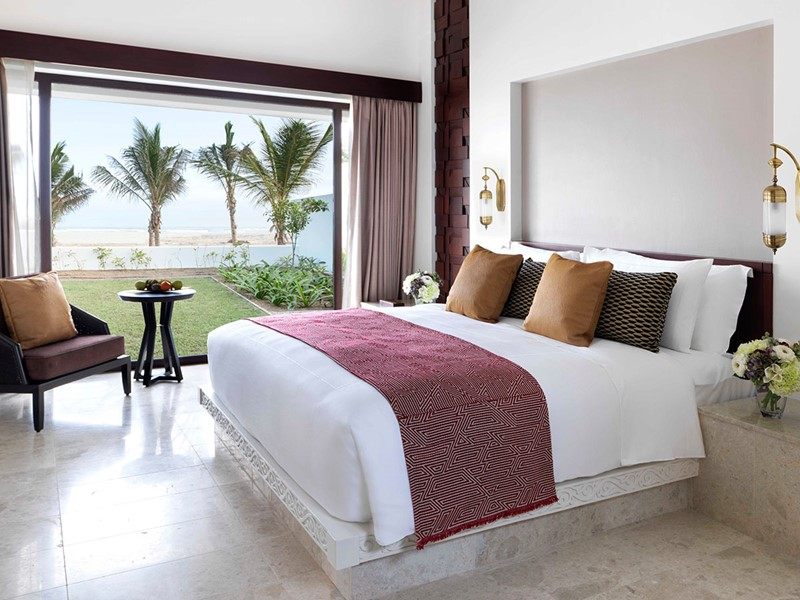 One Bedroom Beach Villa de l'Al Baleed Resort Salalah