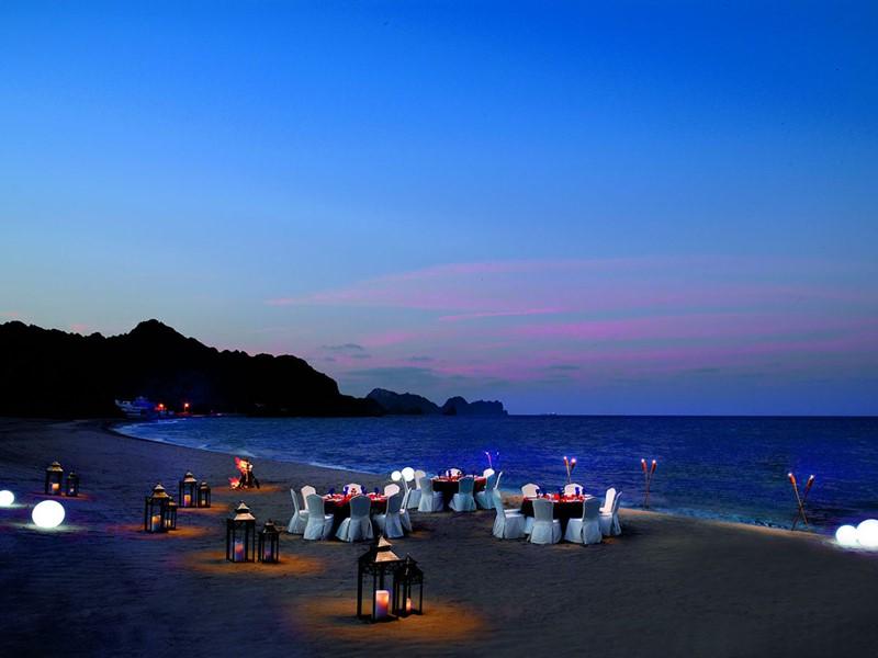 Le restaurant Beach Pavillion