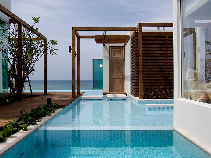 La Three Bedroom Beachfront Villa