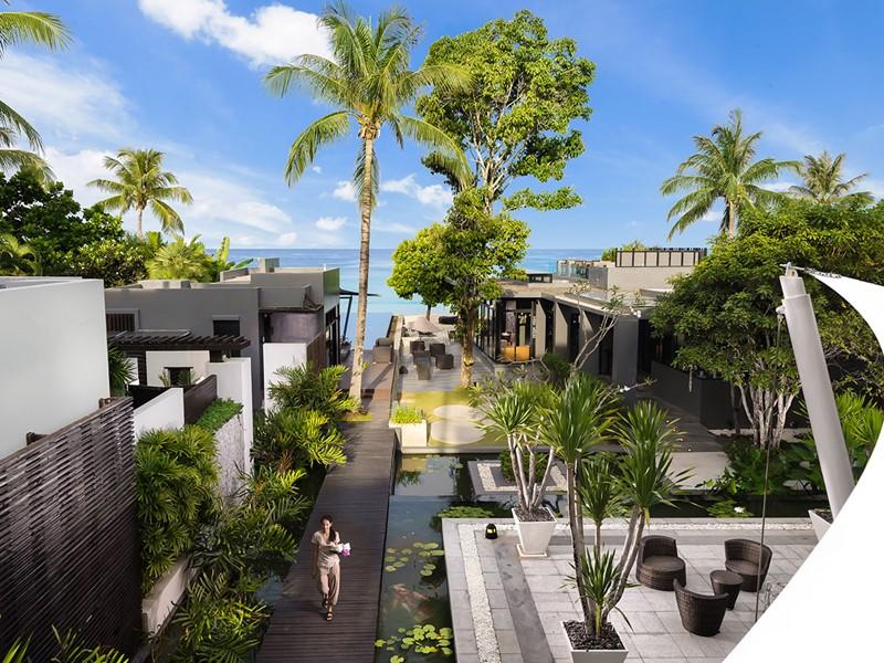 Vue de l'Aleenta Phuket Resort & Spa