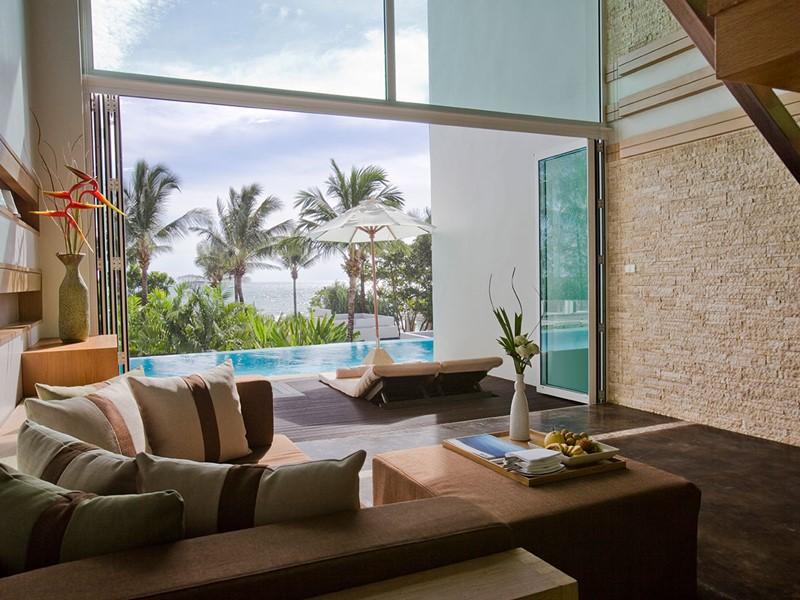 L'Ocean View Loft de l'Aleenta Phuket Resort & Spa