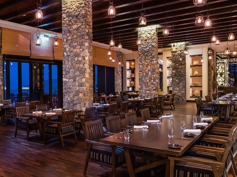 Juniper Restaurant de l'hôtel Alila Jabal Akhdar