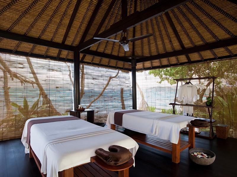 Le spa de l'hôtel 4 étoiles Alila Manggis à Bali