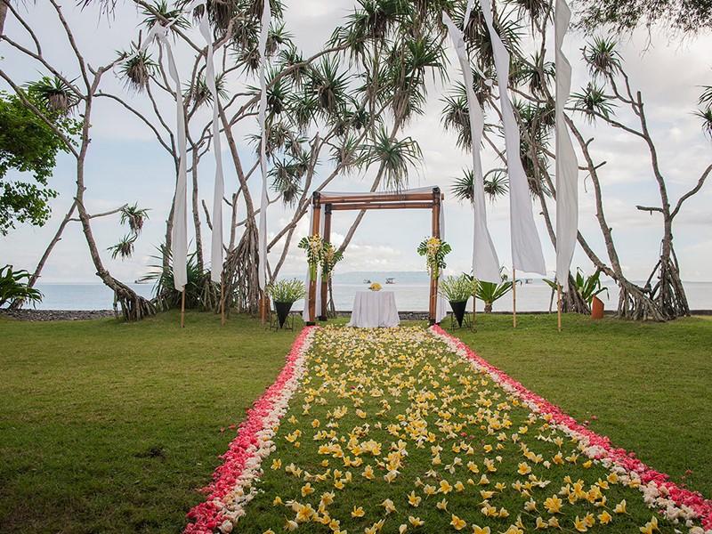 Mariage à l'hôtel Alila Manggis situé à Bali