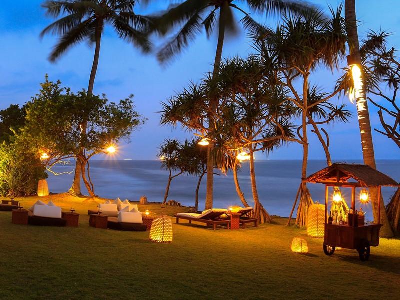 Ocean Bar de l'hôtel Alila Manggis à Candidasa